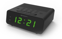 Alarm Clock Radio Automatically Adjust For Daylight Savings Time & Leap ... - $48.99