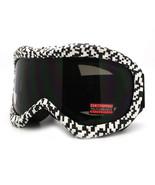 Ski Snowboard Goggles Anti Fog Shatter Proof Lens Digital Pixel Print - $18.95