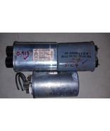 9U81 PACK OF 3 ASSORTED CAPACITORS: 370V/5MF/5.27, 370V/25MF/24.8, 2100V... - $21.00