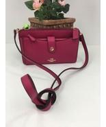 Coach Messenger Bag Pop up Pouch Crossbody Pink Fuschia  53529 B12 - $98.98