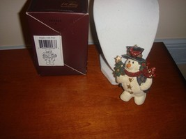 Boyds Bears Folkstone Ornament Jingles With Tree, For Christmas, #2563  - $15.99