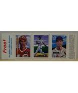 1987 BBC insert baseball cards 1951 Bowman Eric Davis Bo Jackson Stan Mu... - $8.00