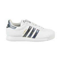 Adidas Samoa J Snake Big Kids' Shoes Footwear White-Core Black bw1303 - £32.07 GBP