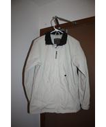 Woolrich Beige Windbreaker Jacket -Size Women's Small - $12.99
