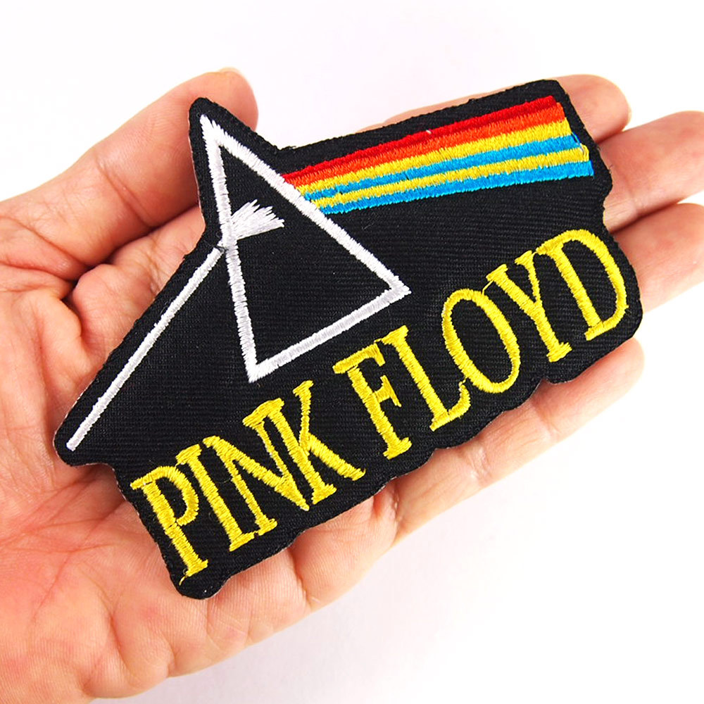 Pink floyd patch hardcore heavy metal rock band