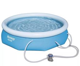 """Bestway Bestway Fast Set 10' x 30"""" Pool Set w/ Filter Pump image 5"""