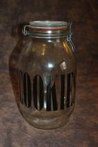 """Vintage 10"""" tall Cookie Jar, Retro style - $17.99"""