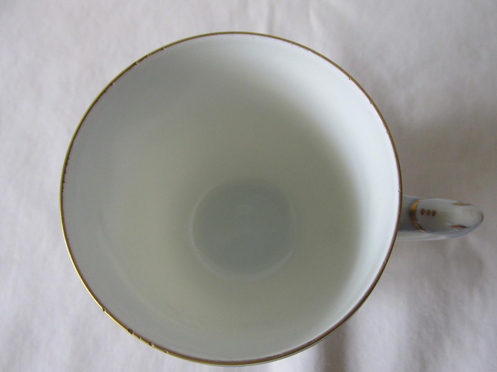 Vintage Bing & Grondahl Danish Bone China Demitasse Seagull Cup & Saucer - 1960s