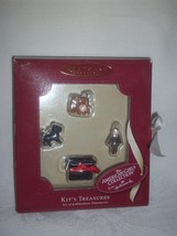 MIB Hallmark Retired American Girl Kit Miniature Ornament Set in Original Box - $14.95