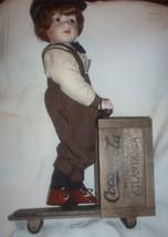 Coca Cola Franklin Mint Danny with his Wood Sco... - $75.00