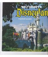 DISNEYLAND Photo Pictorial Color Photos Souvenir Book Vintage Disney 1977 - $32.99