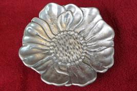 Pewter Sunflower Dish - $9.99