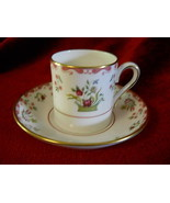 Wedgwood Bianco williamsburg demitassse  cup and saucer - $21.73