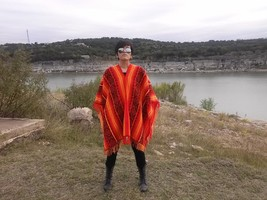 Colorado sunrise poncho wear - $89.00