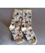 Butterflies and Heart Sock Pair Women's New Nev... - $5.00