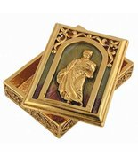 1928 Jewelry Church of San Silvestro's St. Peter rosary box [Jewelry] - $73.26