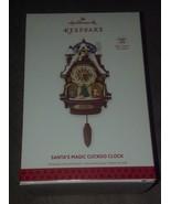 Hallmark Magic Cord Ornament - Santa's Magic Cuckoo Clock 2013 - $93.49