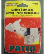 NIP PRIME-LINE DEFENDER SLIDING DOOR OR WINDOW LOCK WHITE TWIST-IN LOCK ... - $5.99