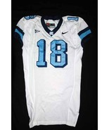 UNC Tarheel GAME USED WORN FOOTBALL JERSEY SIZE... - $95.00