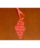 Paper Quilled Ornament- Handcrafted  - $5.95