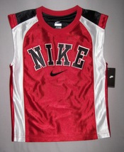 BOYS 4 - Nike - Red-White-Black BASKETBALL SPORTS JERSEY - $16.77