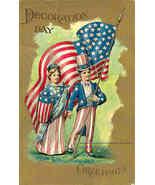 Decoration Day Patriotic Vintage Post Card - $8.00