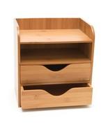 Computer Storage Desk 4 Tier Desk Organizer Home Office Pantry Toolbox NEW - $37.83