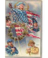 Decoration Day 1776 thru 1911 Vintage Post Card - $10.00
