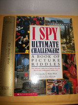 Scholastic Picture Riddle Book I Spy Ultimate Challenger Education Activ... - $13.29