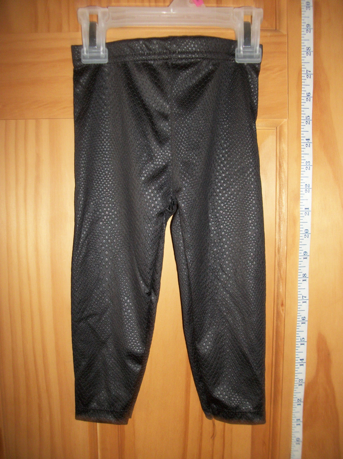 Fashion Holiday Baby Clothes 18M Infant Pants Black Embossed Halloween Leggings - Bottoms