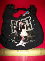 Disney HSM Girl Fashion High School Musical Handbag Bag Gold Trim Black ... - $12.34