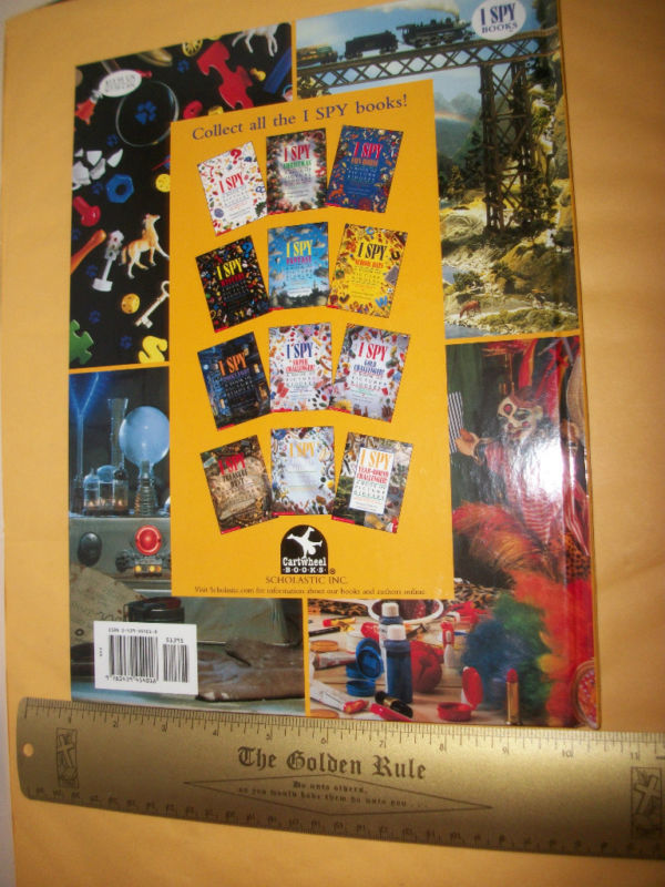 Scholastic Picture Riddle Book I Spy Ultimate Challenger Education Activity New