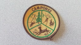 BSA Camporee Scout Patch Tipi Tent, Campfire, Deer - $5.44