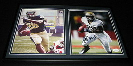 Dion Lewis Signed Framed 12x18 Photo Set JSA Pitt Panthers Eagles - $65.09