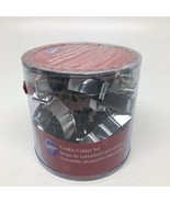 Wilton 18 Piece Metal Christmas Cookie Cutter Set -Pre-owned but Never Used - $10.39
