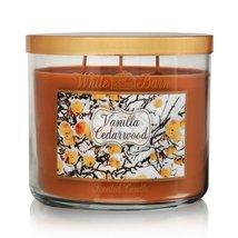 Vanilla cedarwood candle thumb200