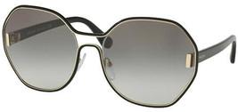 Prada Geometric Oversize Women's Pale Gold Sunglasses PR 53TS 1AB0A7 - Italy - $199.99