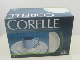 Thirty (30) Piece Corelle Glass Corning Ware Living Ware Square Country Cottage - $224.36