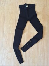 NEW Guess Marciano Stretch Legging Black Knit Ribbed Size XS/TP - $45.71