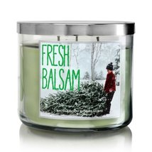 Fresh balsam scented candle thumb200