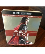 Marvel's Thor (4K+Blu-ray-No Digital)Slipcover-Discs Unused-Free S&H w/Track - $23.95