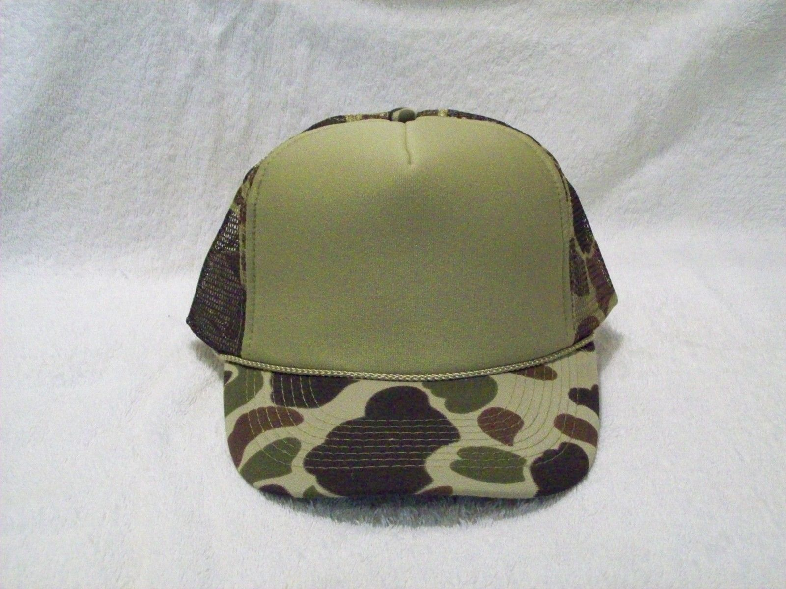 f2001d8c5 New Olive Green Foam Front Camo Mesh Trucker and 50 similar items