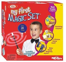 Magic Tricks Cards Kids Show Magician Toy Complete Classic Mindfreak DVD... - $66.74