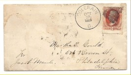 1883 Colerain, OH Discontinued/Defunct Post Office (DPO) Postal Cover - $8.99