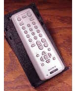 Sony TV Remote Control, no. RM-Y194, used, cleaned and tested - $11.95