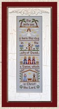 The Nativity cross stitch chart Country Cottage Needleworks - $7.20