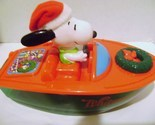 Snoopy Whitman Christmas Boat