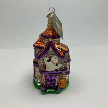 Old World Ornament Glass Halloween Haunted House The Merck Family's New - $29.99