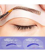 Grooming Stencil Kit Make Up MakeUp Shaping DIY Beauty Eyebrow Template - $6.00