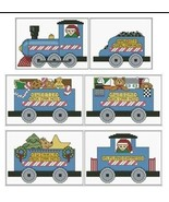 Wyatt's Elfland Express cross stitch chart Lind... - $7.20